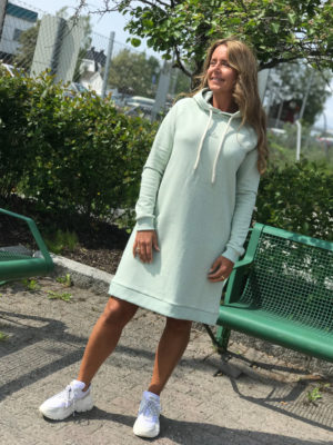Holzweiler Hang wide dress Mint Melange