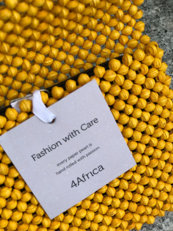 4Africa Clutch Spring Yellow
